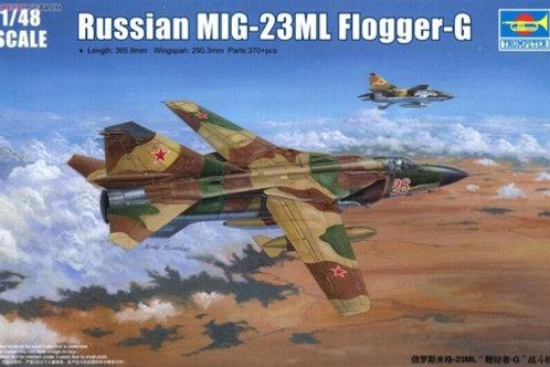 Советский истребитель МиГ-23МЛ Flogger-G - Trumpeter 02855 1/48
