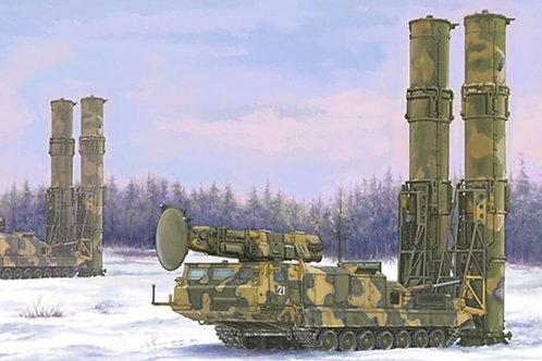 Система С-300В 9А82 с двумя ракетами 9M82 - Trumpeter 09518 1:35