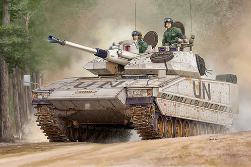 Шведская БМП CV90-40C с доп. броней - Hobby Boss 1:35 82475