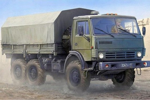 Российский грузовик К-4310 - Trumpeter 01034 1/35
