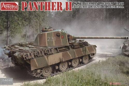 Танк Пантера 2 с башней от Rheinmetall - Amusing Hobby 35A040 1/35