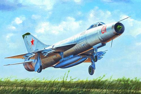 Советский истребитель Су-9 (Su-9 Fishpot) Trumpeter 1:48 02896