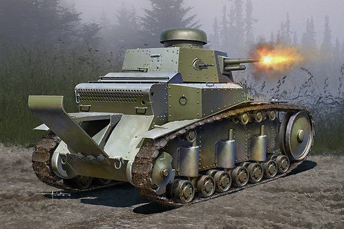 Советский легкий танк Т-18 мод. 1930 года - Hobby Boss 83874 1:35