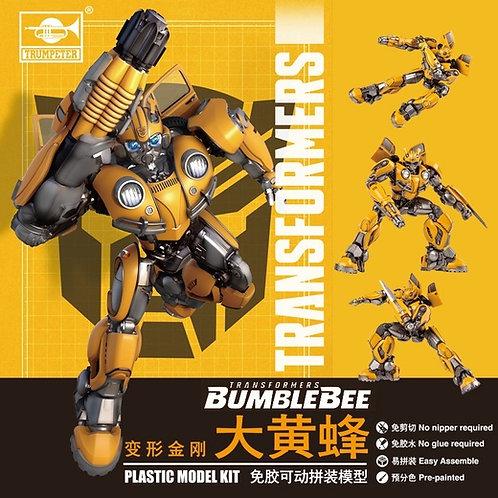 Трансформер Бамблби Bumblebee, сборка без клея - 08100