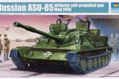 Советская самоходка АСУ-85 мод. 1956 года - Trumpeter 01588 1:35