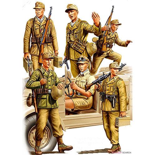 Фигурки Немецкие солдаты Африканского корпуса DAK - Hobby Boss 1:35 84410