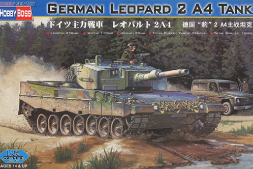 Немецкий танк Леопард 2А4, German Leopard 2 A4 Tank - Hobby Boss 1:35 82401