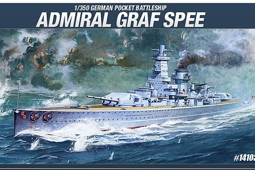 Academy 1:350 14103 Адмирал Граф Шпее German Pocket Battleship Admiral Graf Spee