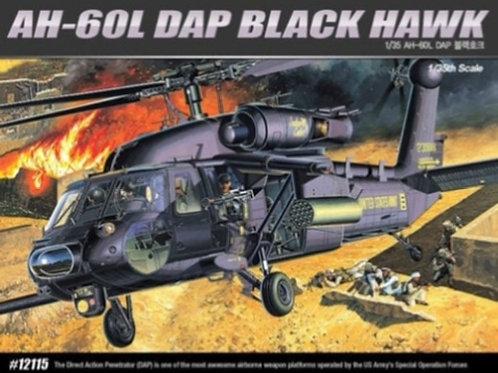 Американский вертолет AH-60L DAP Black Hawk - Academy 1:35 12115
