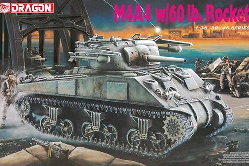 Шерман M4A4 Sherman w/60 lb. Rocket - Dragon 6041 1:35