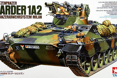 Bundeswehr SPz Marder 1A2 mit Panzerabwehrsystem Milan - Tamiya 1:35 35162