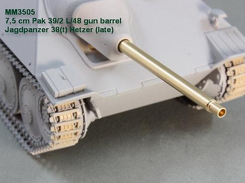 Magic Models MM3505 7,5 см ствол Pak 39/2 L/48. Jagdpanzer 38(t) Hetzer (late)