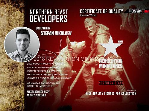 Северный зверь / Northern Beast -Revolution MiniaturesF7505, масштаб 75 мм