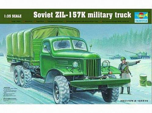 Советский грузовик ЗиЛ-157К - Trumpeter 1:35 01003