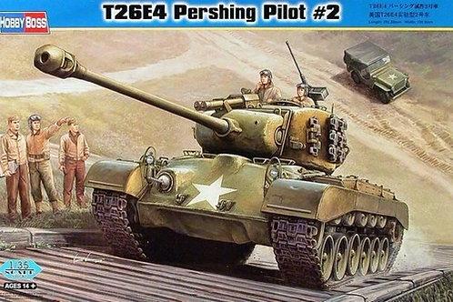 Танк Супер Першинг T26E4 Super Pershing Pilot #2 - Hobby Boss 82427 1:35