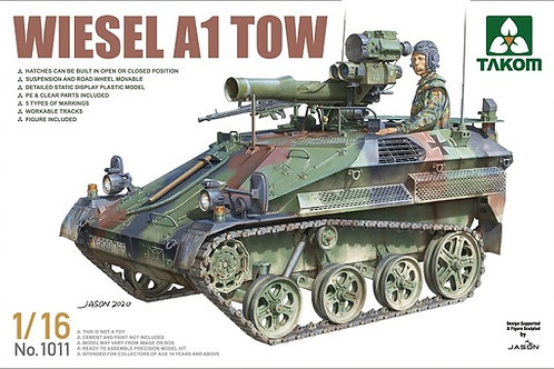 (под заказ) Wiesel A1 TOW - Takom 1:16 1011
