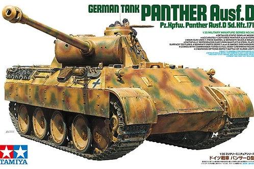Tamiya 1:35 35345 Немецкий танк Пантера Д, Panther Ausf.D