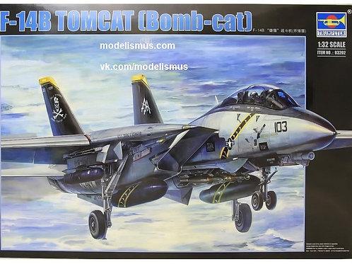 """Самолет Grumman F-14B Tomcat """"Bombcat"""" - Trumpeter 1:32 03202 - под заказ"""