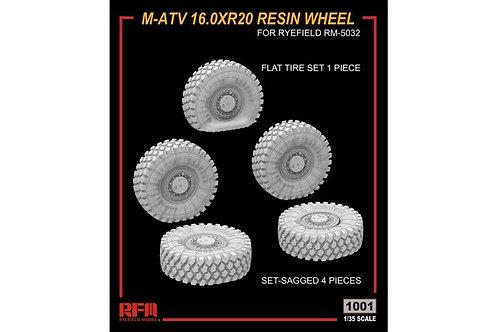 Набор колес с просадкой для МРАП M-ATV (RM-5032) - Rye Field Model RM-1001 1/35