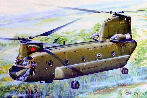 """Вертолет США Чинук, CH-47A """"Chinook"""" - Trumpeter 1:72 01621"""