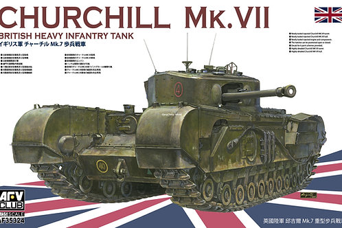 (предзаказ) Британский танк Черчилль Churchill MK.VII - AFV Club 1:35 AF35324
