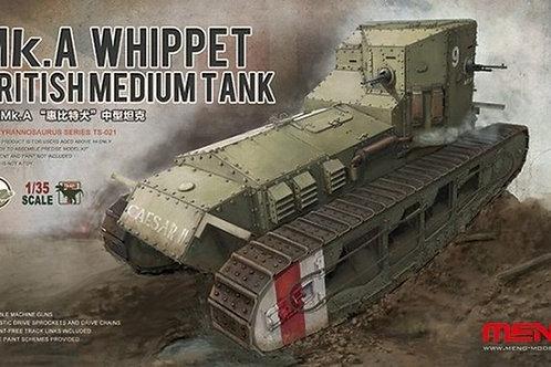(под заказ) Британский танк Уиппет Mk.A Whippet - Meng Model TS-021 1/35