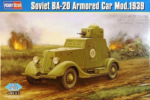 Советский бронеавтомобиль БА-20 мод. 1939 года - Hobby Boss 1:35 83883