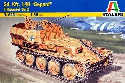 Зенитная самоходка Гепард, Flakpanzer 38 Gepard - Italeri 6461 1:35
