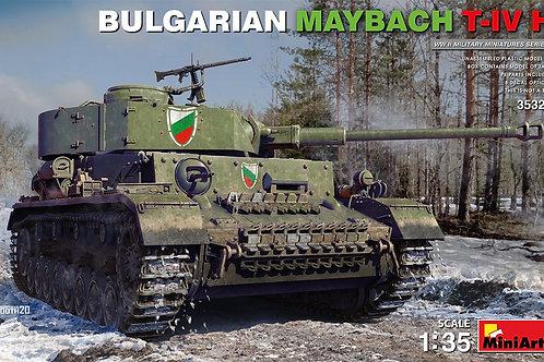 (предзаказ) Bulgarian Maybach T-IV H (Panzer IV H) - MiniArt 1:35 35328