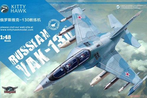 (под заказ) Российский Як-130 - Kitty Hawk KH80157 1/48