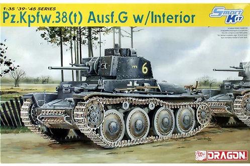 (под заказ) Немецкий танк Pz.Kpfw. 38(t) Ausf. G с интерьером - Dragon 6290 1:35