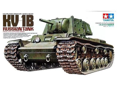 (под заказ) Танк КВ-1 с дополнительной броней, 1940 год - Tamiya 35142 1/35