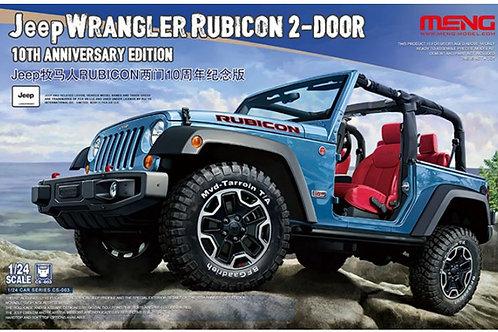 Jeep Wrangler Rubicon 2-Door - Meng Model CS-003 1:24 - под заказ