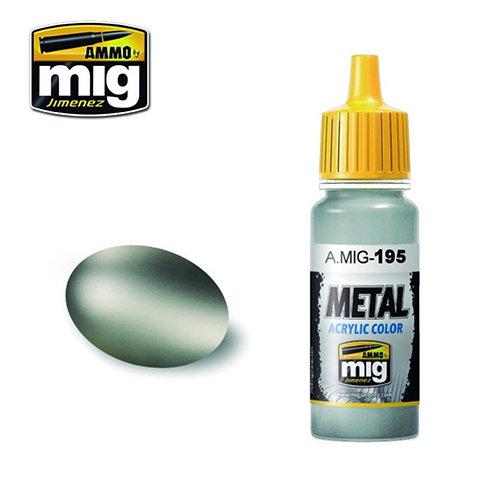Ammo Mig AMIG-0195 METALLIC SILVER металлик серебро 17 мл