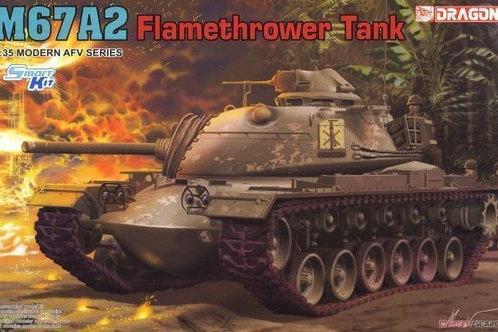 "(под заказ) Огнеметный танк M67A2 ""Zippo"" Flamethrower Tank - Dragon 1:35 3584"