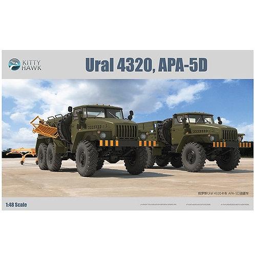 (в пути) 2в1 Урал-4320 + электроагрегат АПА-5Д - Kitty Hawk 1:48 KH80159