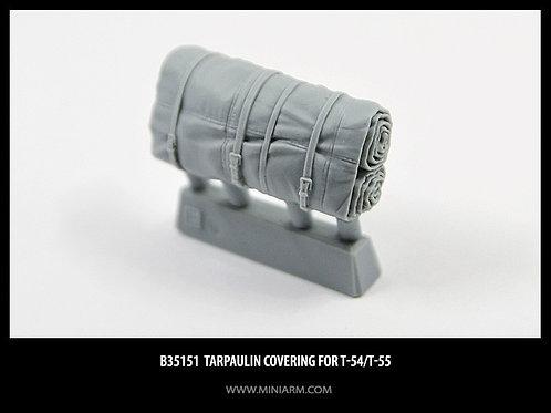 MINIARM 35151 Брезентовая укладка (скатка) для Т-54, Т-55 (1 шт) - b35151 1:35