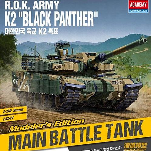 "R.O.K. ARMY K2 ""Black Panther"" - Academy 13511 1:35"