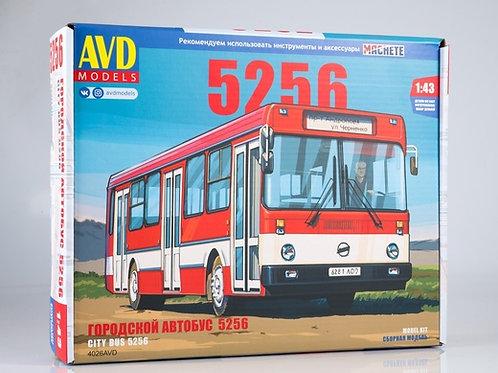 Сборная модель Ликинский автобус Лиаз-5256 - AVD 4026 1/43 4026AVD