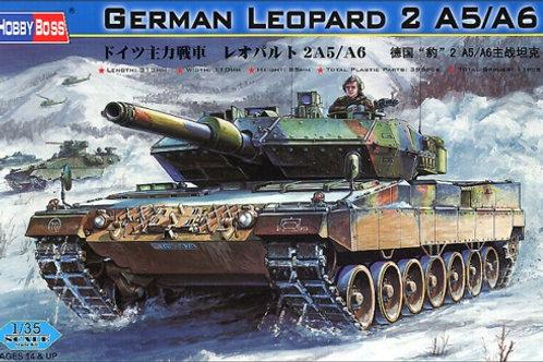 Леопард 2, German Leopard 2 A5/A6 - Hobby Boss 1:35 82402
