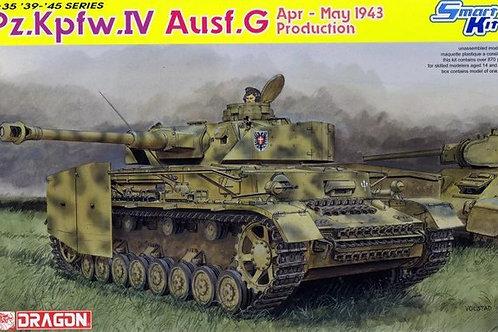 (под заказ) Pz. IV Ausf.G Apr-May 1943 Production - Dragon 6594 1:35