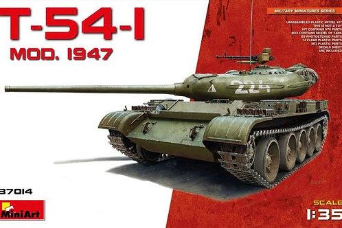 (под заказ) Советский танк Т-54-1 мод. 1947 года - MiniArt 37014 1/35