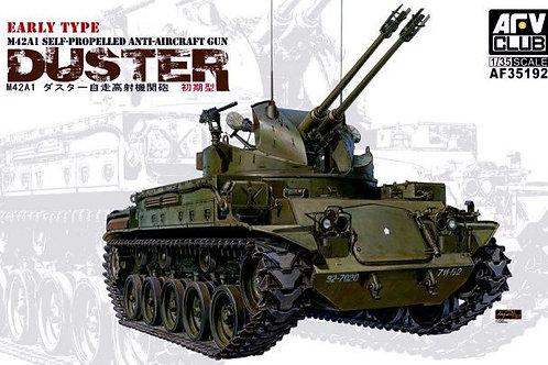 Американская ЗСУ M42A1 Duster раннего выпуска - AFV Club 1:35 AF35192