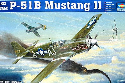 Самолет Мустанг P-51B Mustang II - Trumpeter 1:32 02274