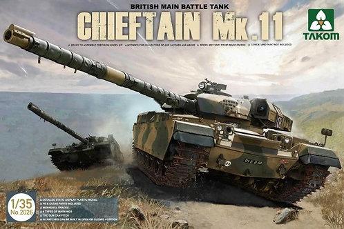 Британский танк Chieftain Mk.11 - Takom 2026 1:35
