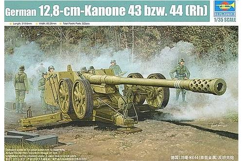Немецкая 128-мм пушка Kanone 43 bzw. 44 (Rh) - Trumpeter 1:35 02312