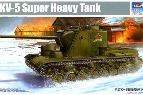 Советский танк КВ-5 - Trumpeter 05552 1/35