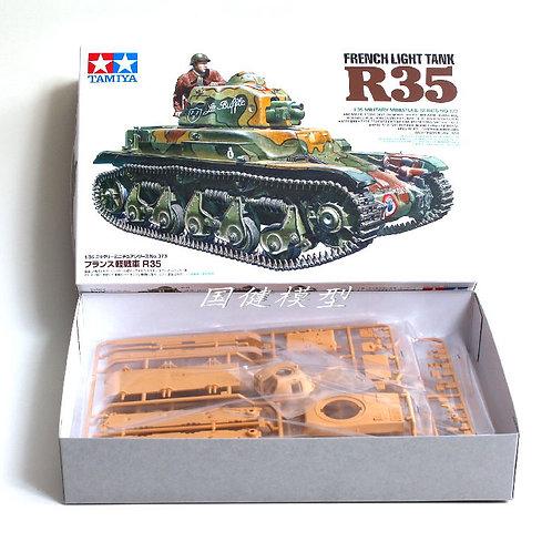 Французский танк French Light Tank R35 - Tamiya 1:35 35373