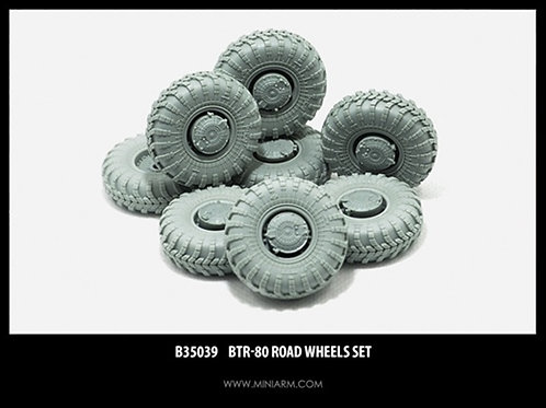 MINIARM B35039 Набор колес БТР-80 (8 шт) - 35039 1:35