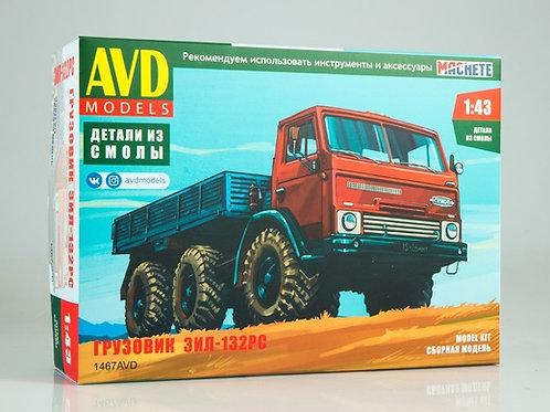 Сборная модель ЗИЛ-132РС - AVD Models 1:43 1467AVD 1467
